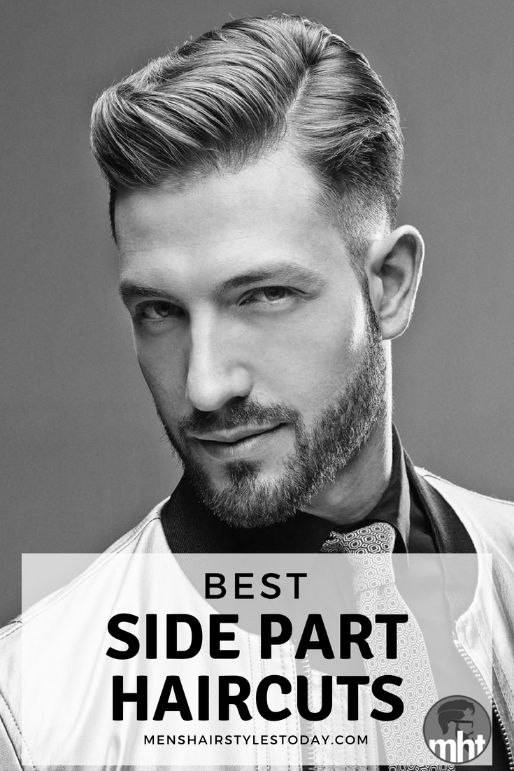 25 best side part hairstyles + parted haircuts for men (2019