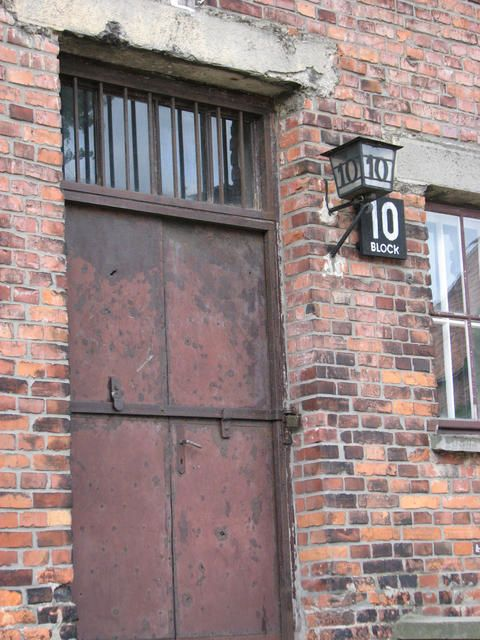 auschwitz barracks  Krakow, Poland