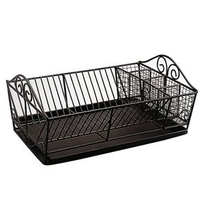 New French Wire Dish Drainer Farmhouse Dish Racks Dish Drainers
