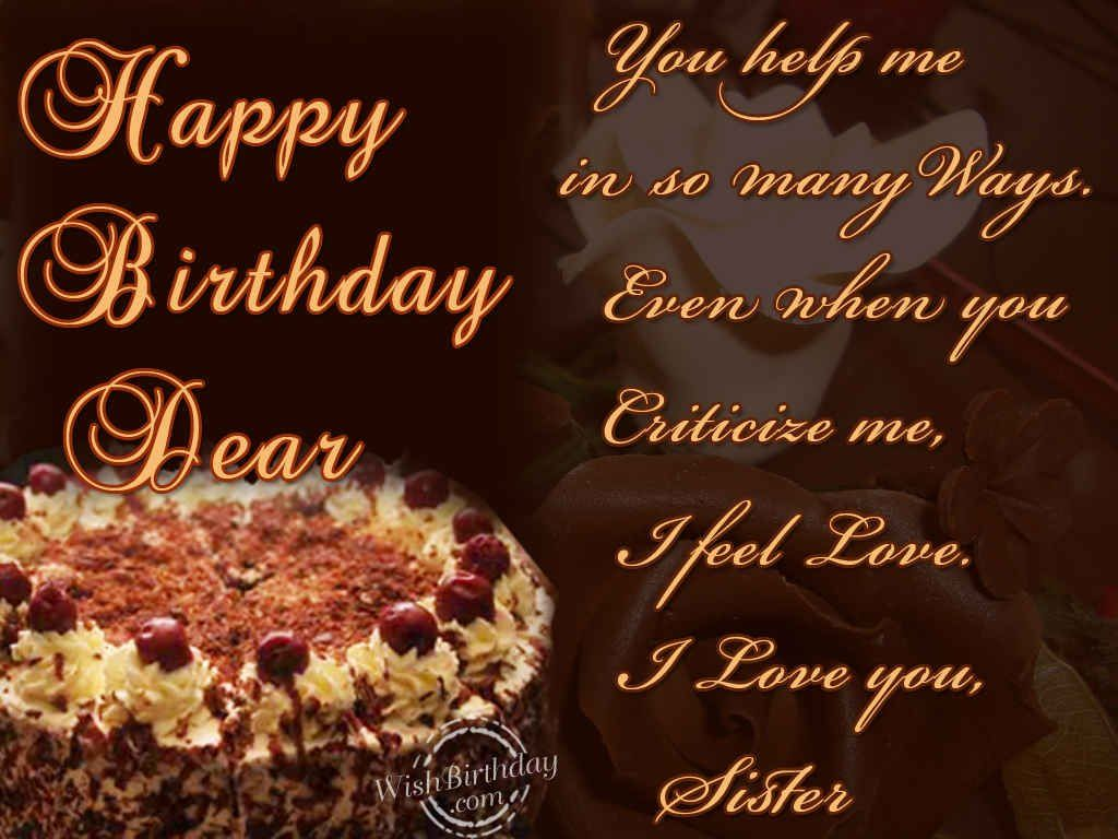 Top 25+ best Happy bday sister ideas on Pinterest | Birthday ...