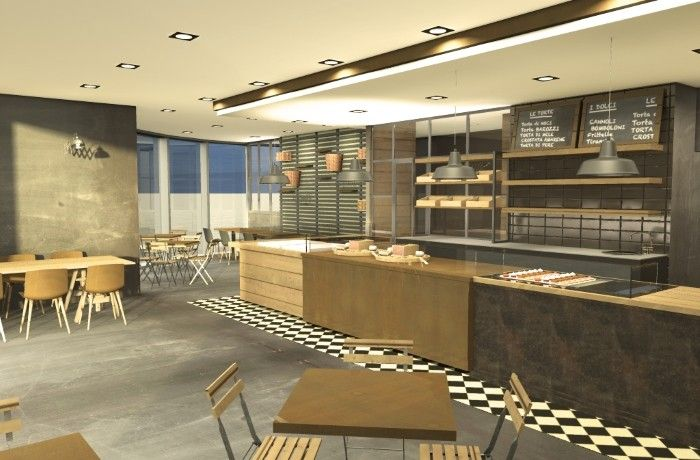 Render For Coffee Shops, Pastry Shops, Restaurants And Bakeries I Like The  Border On The Floor.