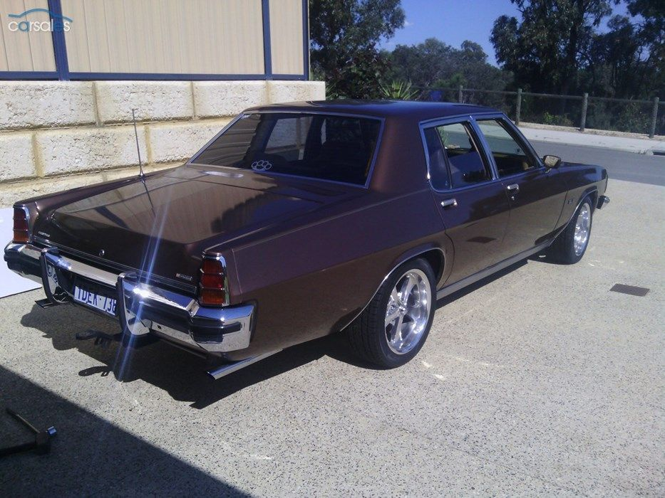 1979 Holden Statesman HZ SL/E (With images) Aussie