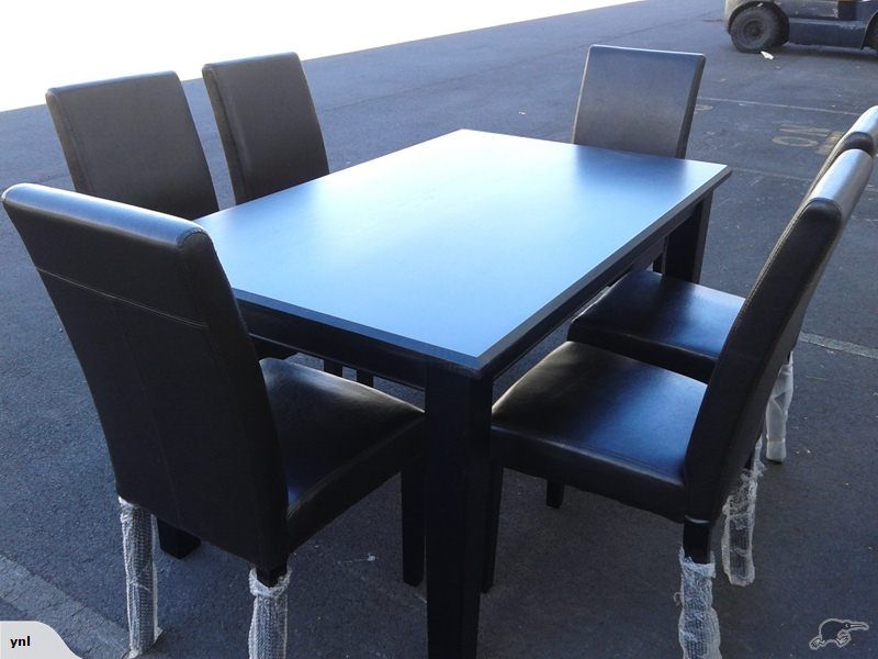 15M DINING TABLE WITH 6 CHAIRS BRAND NEW