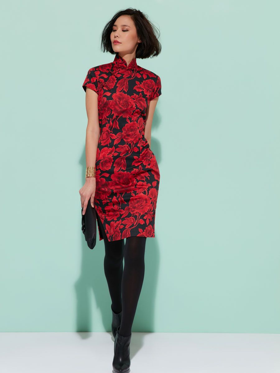 Traditional Qipao style, iconic from Shanghai Tang. Belongs to our ...