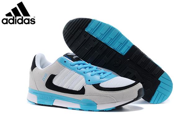 new style de0d4 654bc Men's/Women's Adidas Originals ZX 850 Shoes White/Samba Blue ...