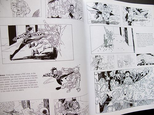 The Art Of The Matrix, Matrix Storyboards By Steve Skroce | Comics