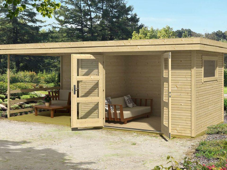 Abri De Jardin Warwick 17 28mm Avec Terrasse Avec Images Abri De Jardin Abri De Jardin Bois Jardin Avec Terrasse