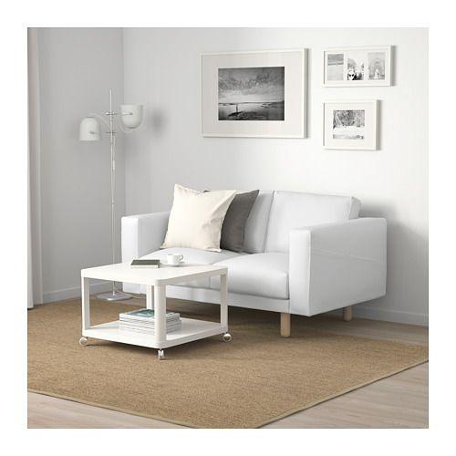 NORSBORG 2er-Sofa - Finnsta weiß/Birke weiß - IKEA ...