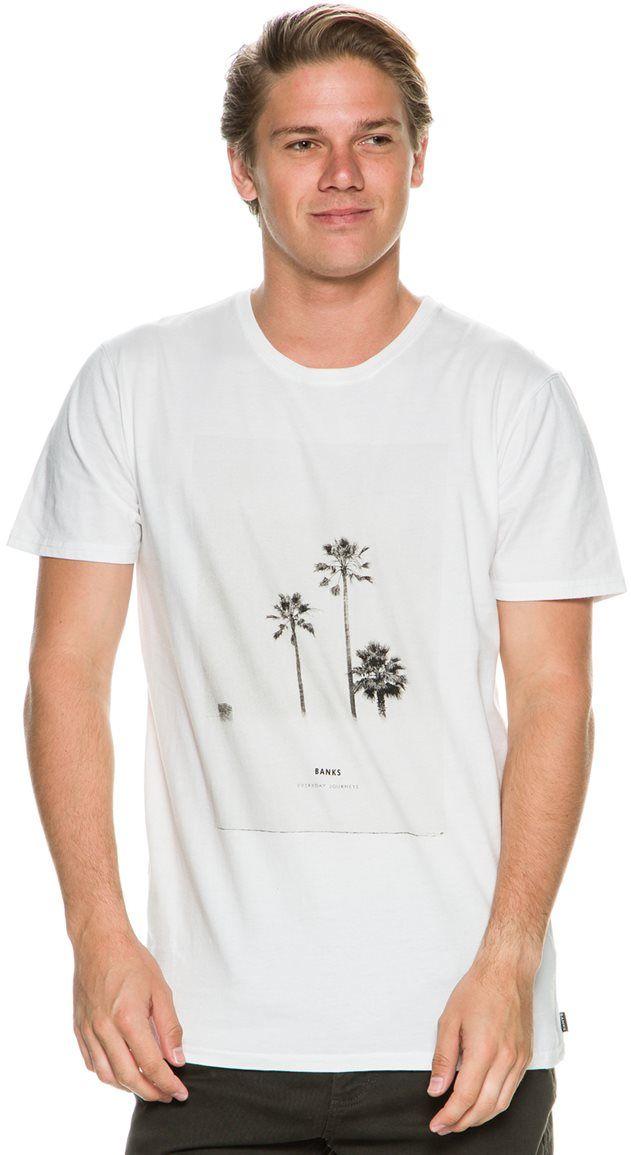 604c60a92 BANKS PALM SS TEE | Tshirt | Moda masculina, Camisetas, Moda