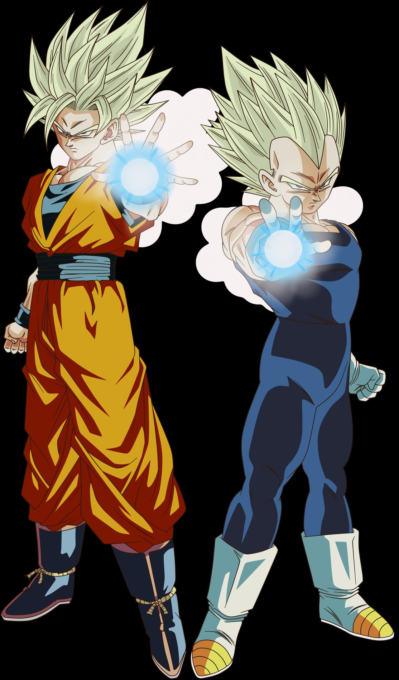 Goku Super Saiyan 2 And Vegeta Super Saiyan 2 By Crismarshall On Deviantart Anime Dragon Ball Super Dragon Ball Super Manga Dragon Ball Super Goku