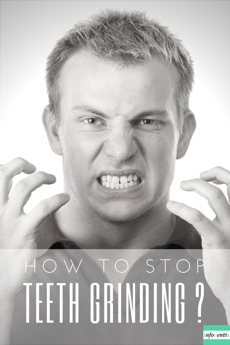 how to quit clenching teeth at night