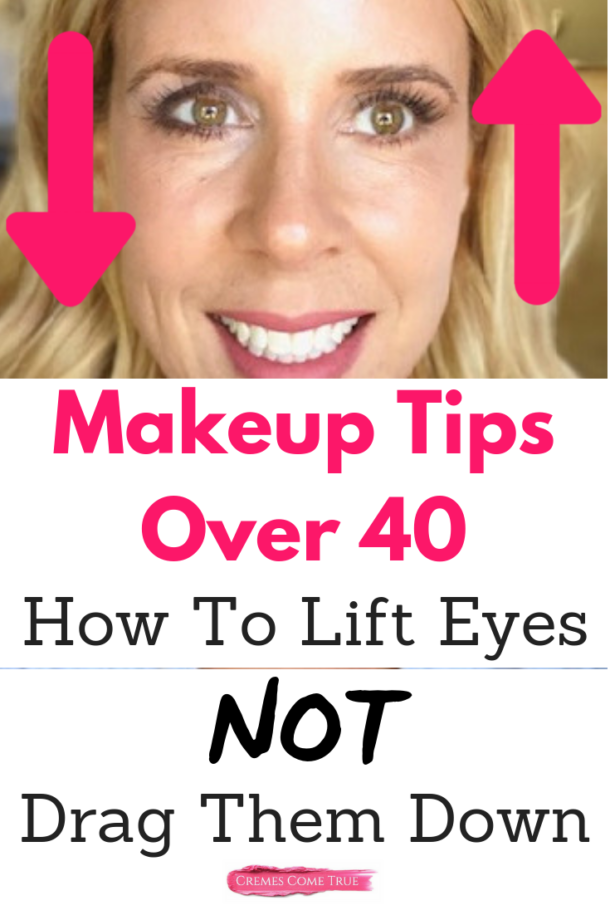 Hooded Eye Makeup Tips: How To Lift Aging Eyes - Cremes Come True