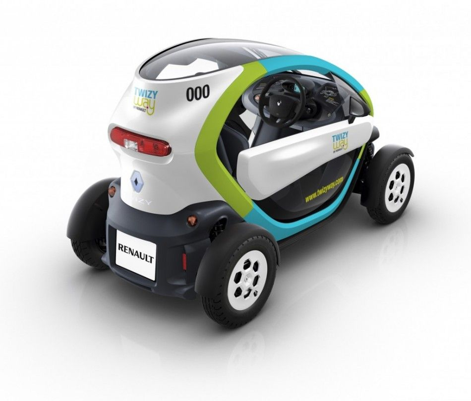 Renault Twizy Provides Eco Friendly Car Sharing Service Auto