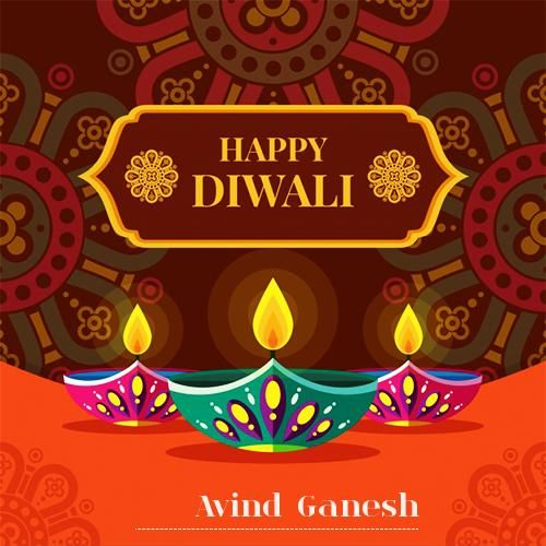 Happy Diwali Wishes 2019 With Name #diwaliwishes