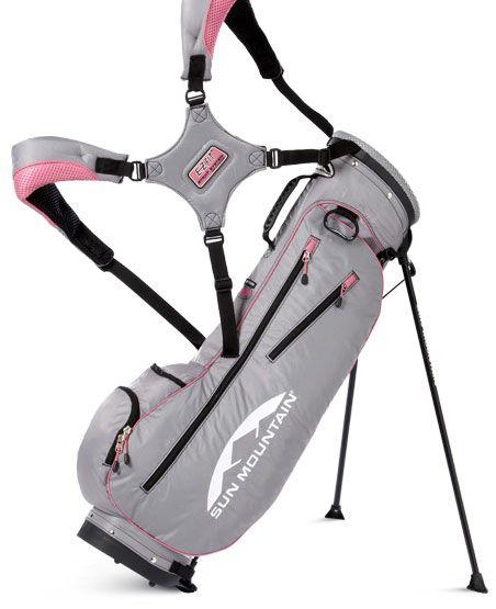Charcola Pink Sun Mountain Swift Juniors Stand Golf Bag At Lorisgolfpe