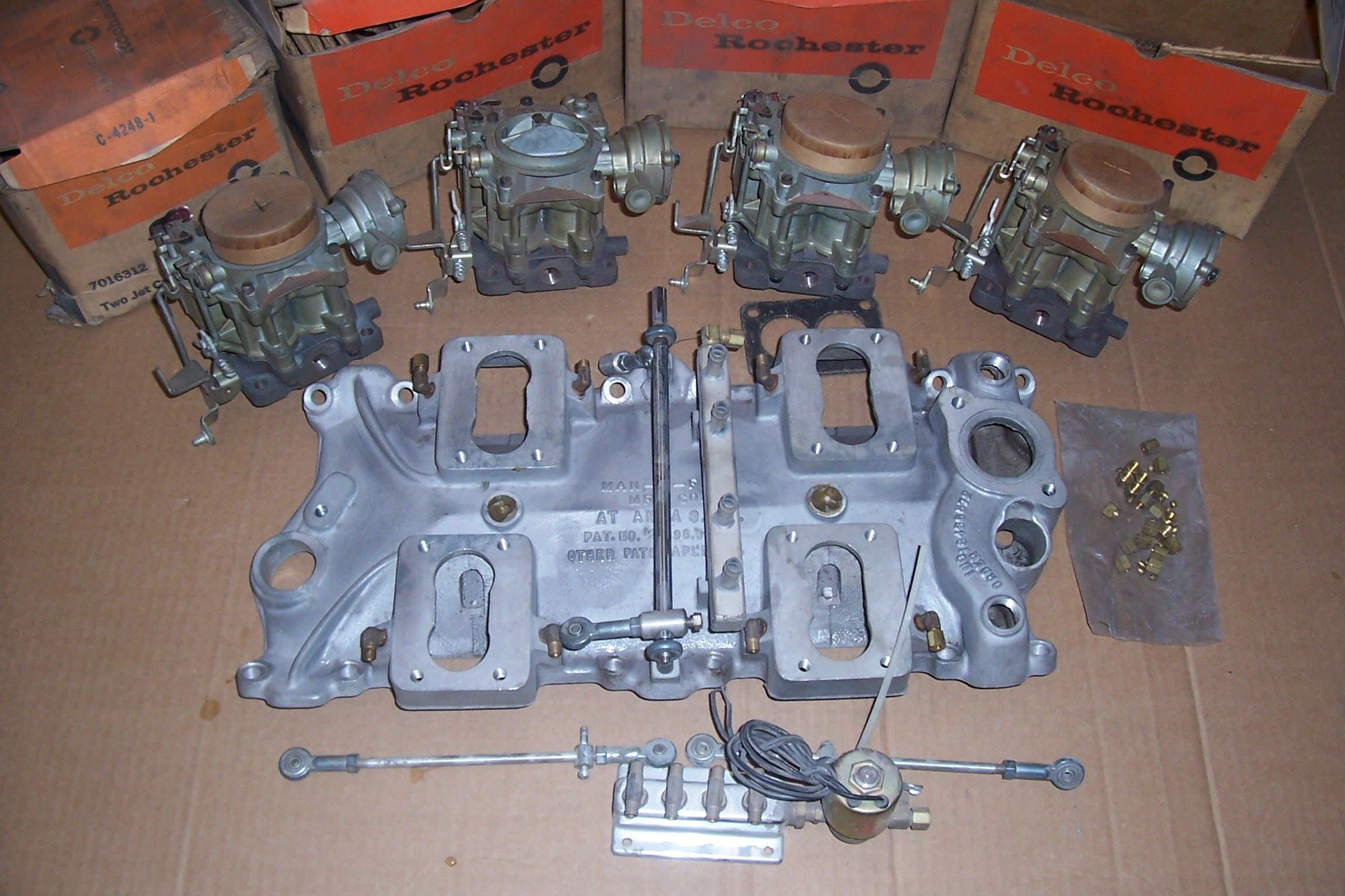 NOS Man-a-Fre Intake | Speed Parts | Lead sled, Hot rods, Sled