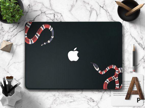 044afc7d641 Gucci Macbook Pro 13 Case Macbook Air 13 Case Inch Macbook Air Hard Case  Macbook Gucci Snake Macbook