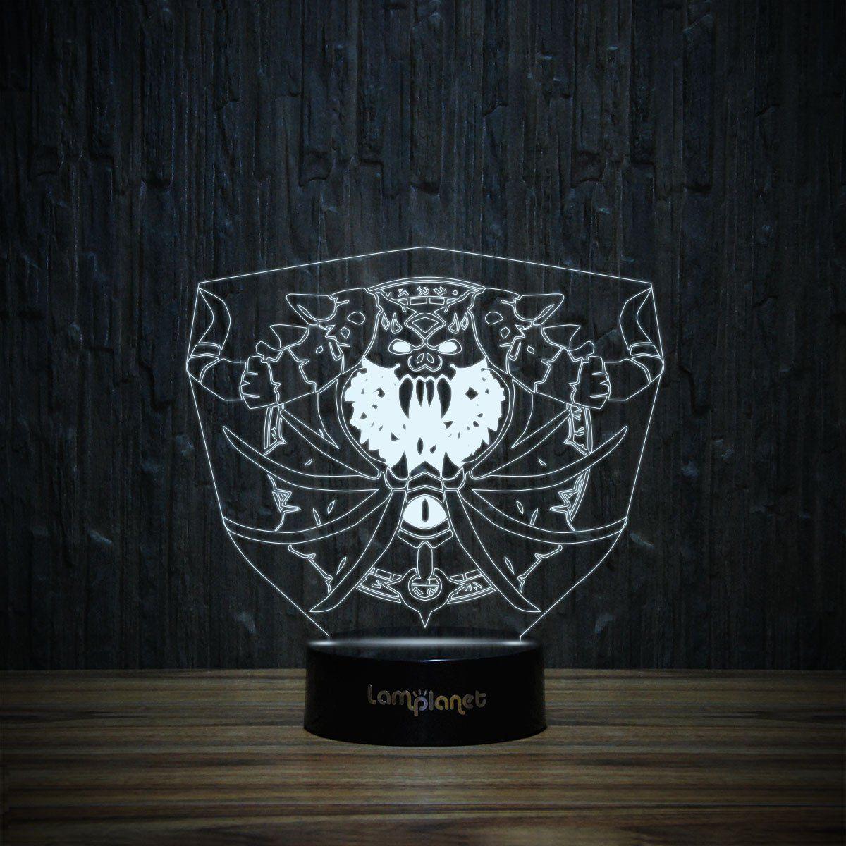 3D-184 3D LED Illusion Lamp-3D Lamp-Lamplanet