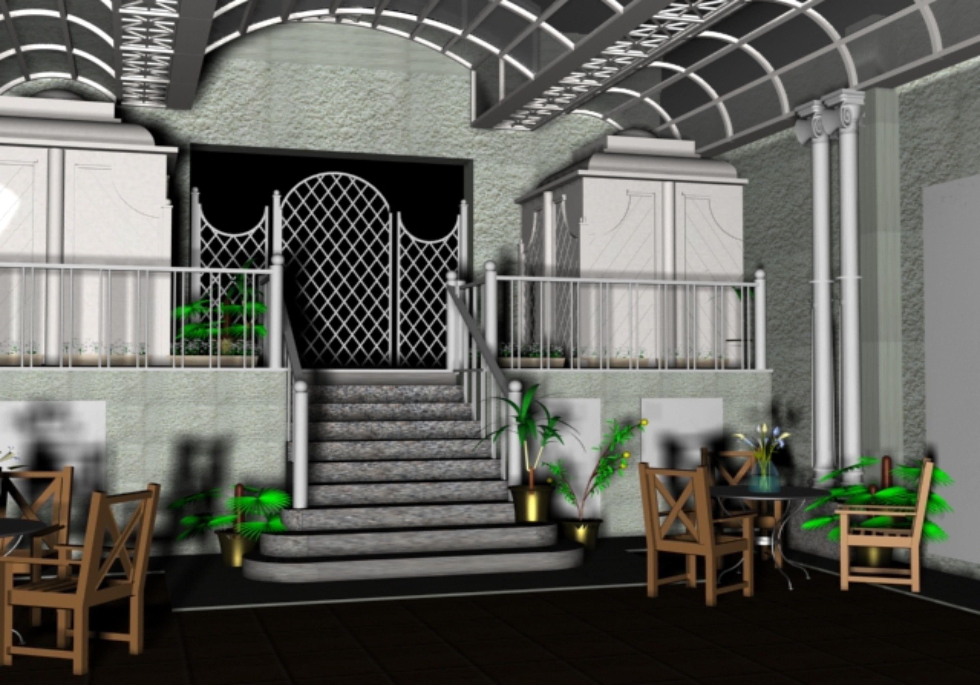DECORACIÓN: Proyecto patio Juán Bravo, 25 - Infografia 3D Max
