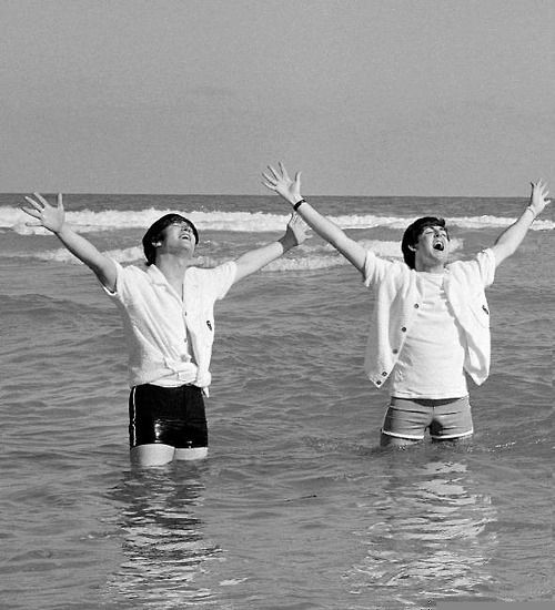 """""""Well, he's like a brother. I love him. Families – we certainly have our ups and downs and our quarrels. But at the end of the day, when it's all said and done, I would do anything for him, I think he would do anything for me.""""  - John Lennon on Paul McCartney"""