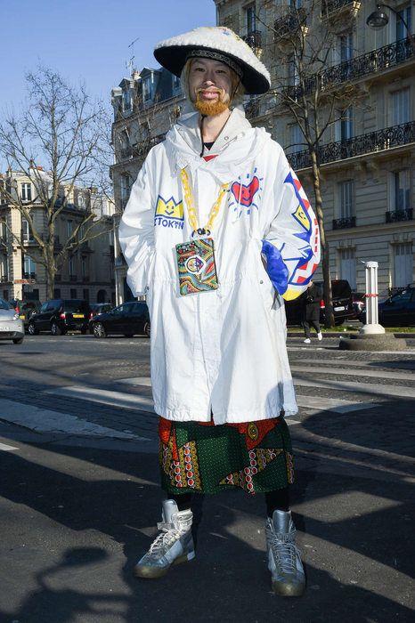 Street Fashion Paris N275, 2017