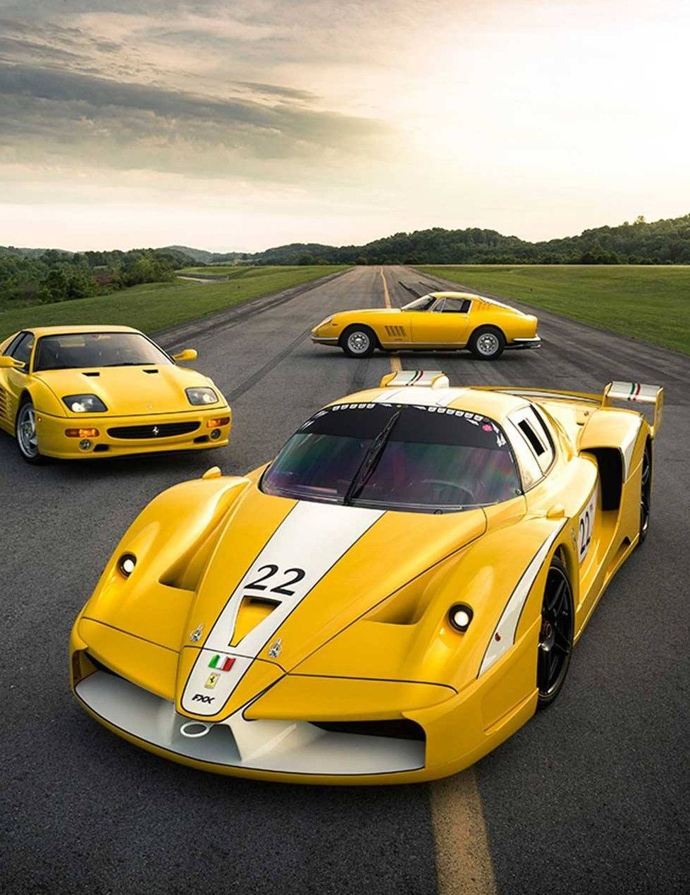 Ferrari Enzo Fxx Yellow Car Ferrari Car Ferrari Super Cars
