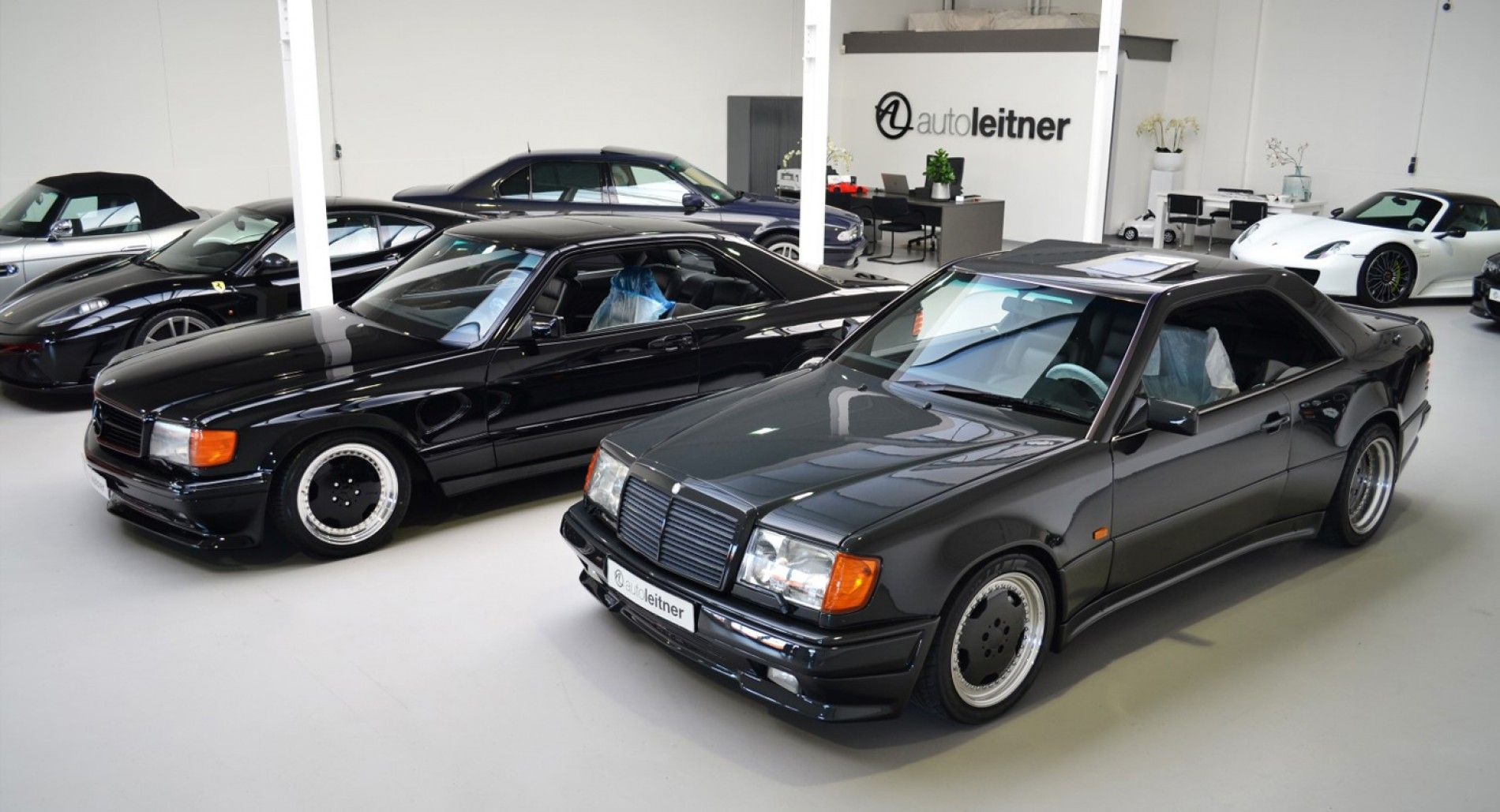 Mercedes 560 Sec 6 0 Amg And Mercedes 300ce 6 0 Amg Hammer With
