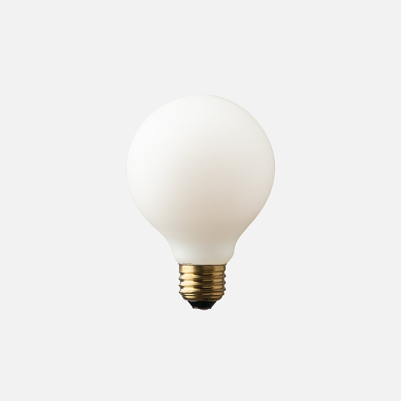 G25 Matte Porcelain Led Bulb Led Bulb Bulb Light Bulb