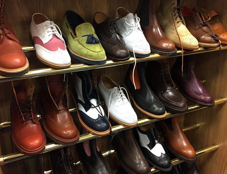 02d1c27889545 Tricker's ladies shoes: A visit to Tricker's shoe factory shop and a Mr  Benn moment — Northampton shoes