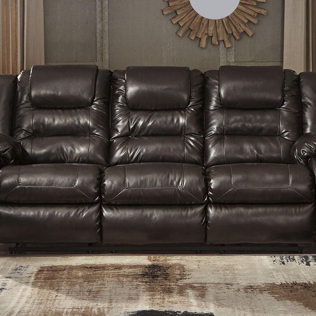 Brilliant Ashley Furniture Vacherie Reclining Sofa 499 99 Willows Gmtry Best Dining Table And Chair Ideas Images Gmtryco