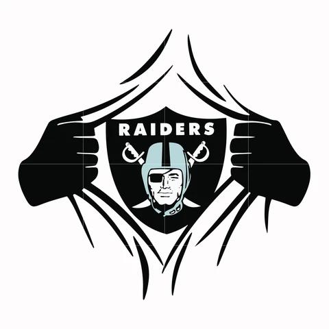 Las Vegas Raiders Superman Svg Png Dxf Eps File Nfl0000189 Lemonsvg In 2020 Raiders Svg Cute Poster