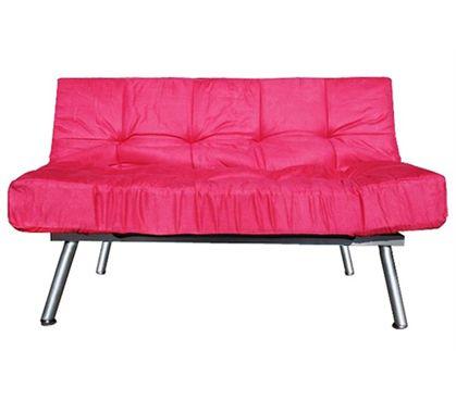 Cozy Sofa Mini Futon Candy Pink