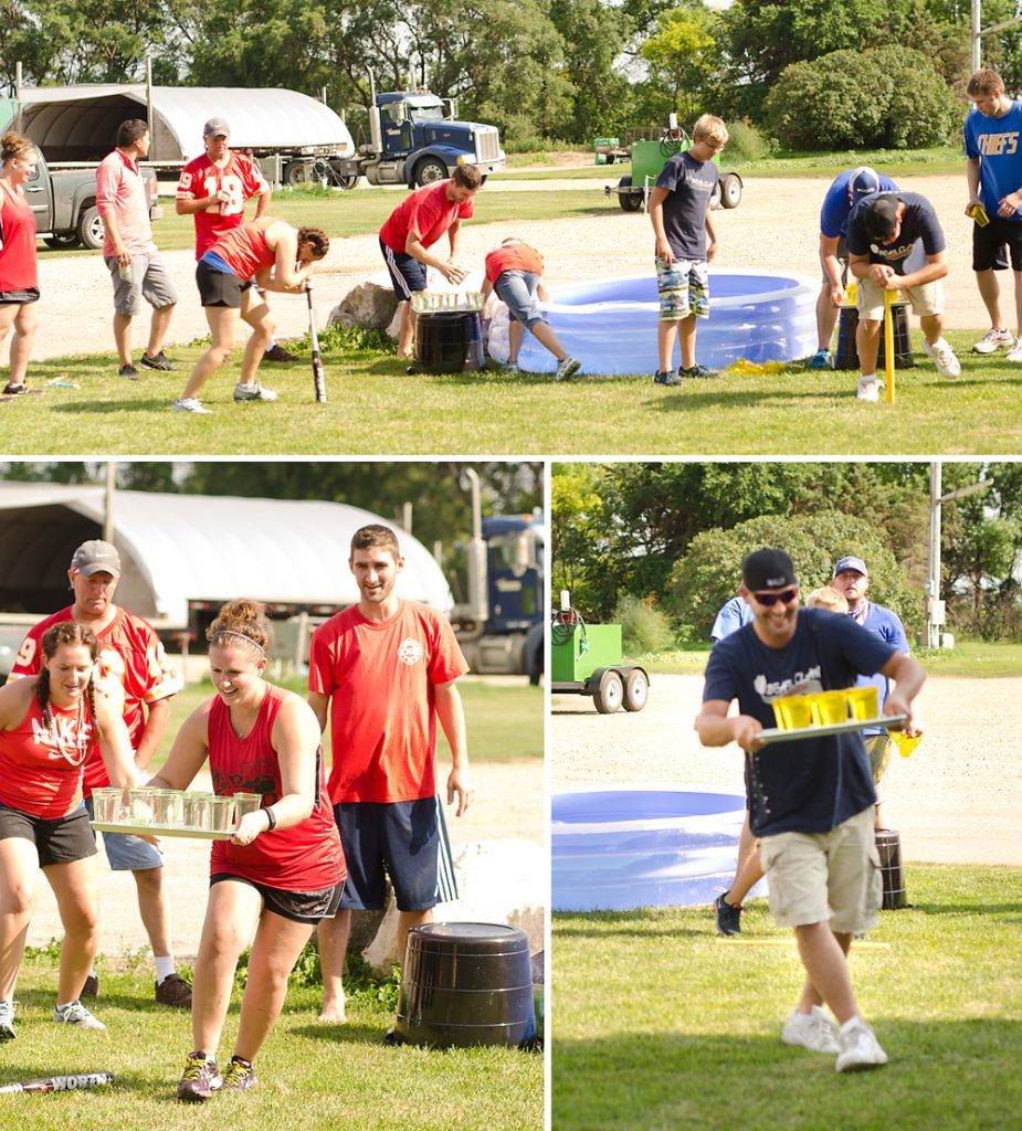 Family Summer Olympics 2016 Backyard Games Picnic
