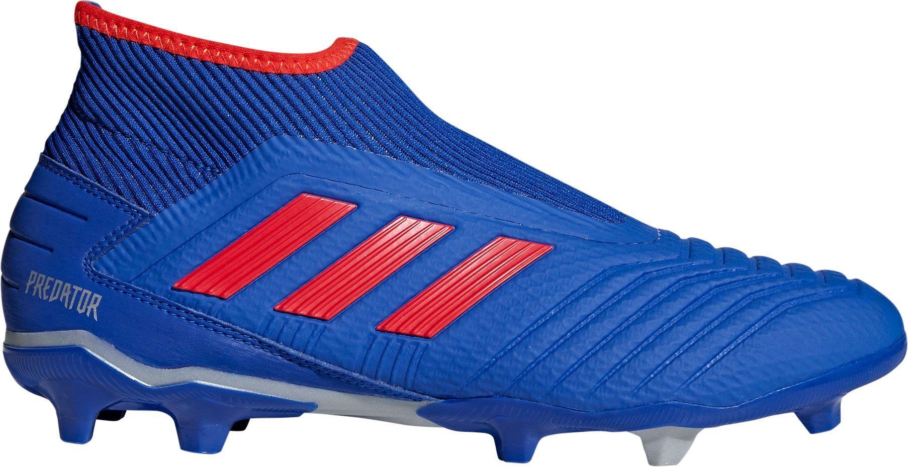 68984c778 adidas Men s Predator 19.3 Laceless FG Soccer Cleats