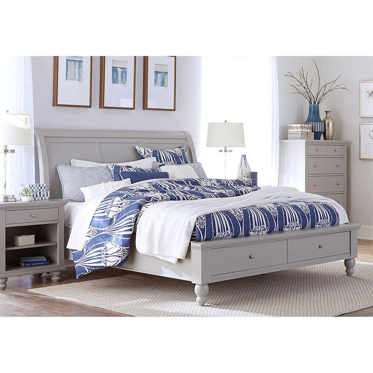 Pin by Megan on Bedroom Bliss King storage bed