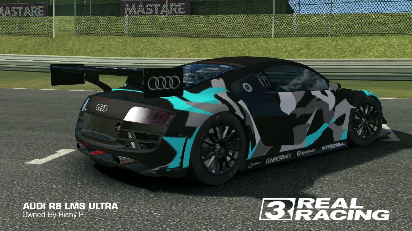 Urban Camo Rr3 Racing Real Racing Vinyl