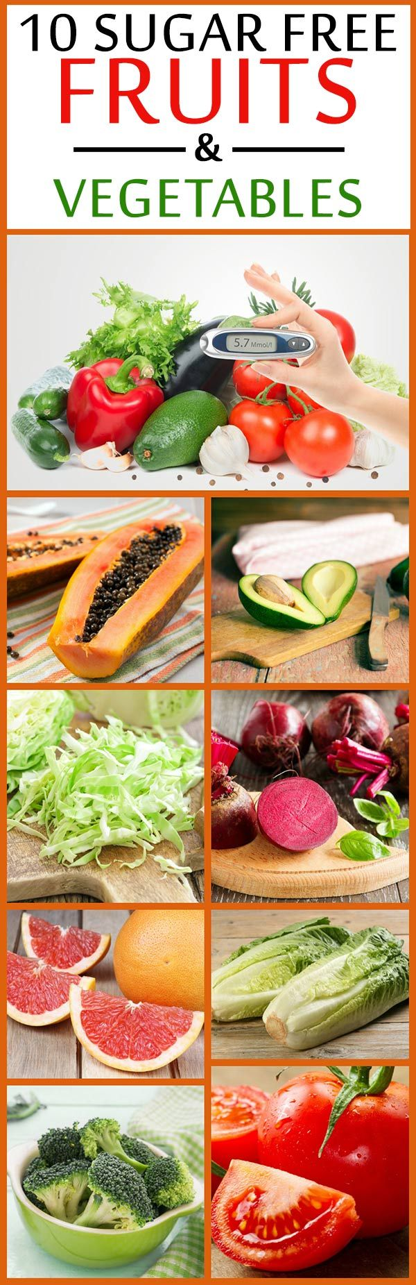 10 Sugar Free Fruits And Vegetables
