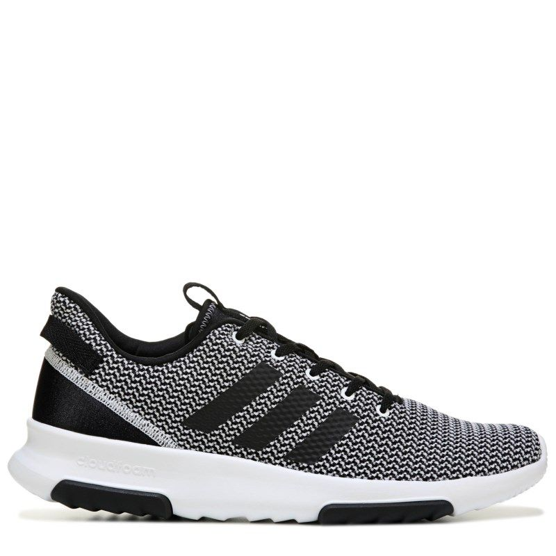 competitive price cd35f e34f4 Adidas Mens Neo Cloudfoam Racer TR Sneakers (BlackWhite)