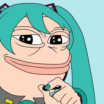 The rare miku Pepe