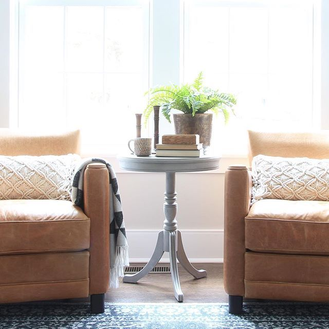 Iu0027m Sharing My Leather Chairs From Home Goods For #howyouhome. Pillows,