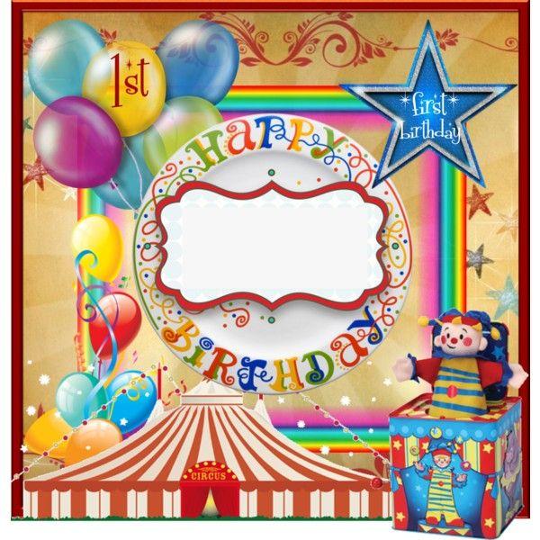 Birthday invitation big top by label maker custom label designs birthday invitation big top by label maker stopboris Choice Image