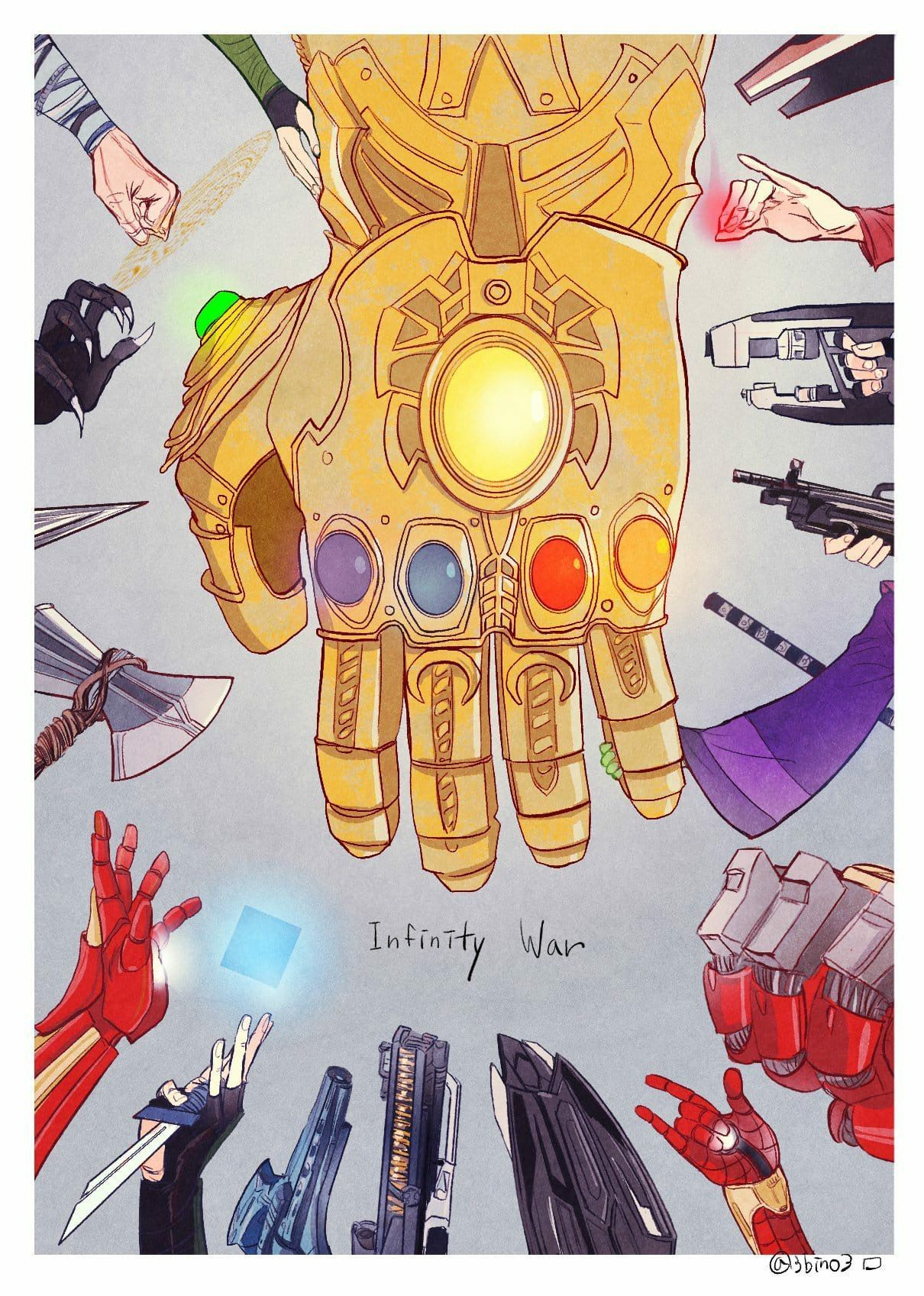All Couple Avengers - Infinity war team?!囧rz