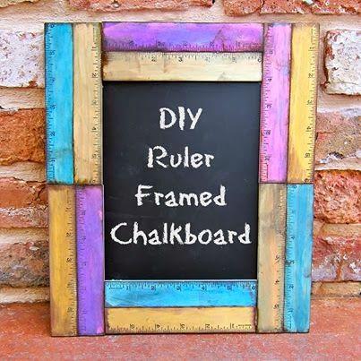 cute ruler framed chalkboard from morenascorner.com