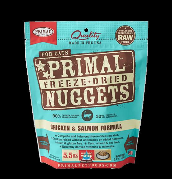 Primal Freeze Dried Nuggets Grain Free Chicken & Salmon