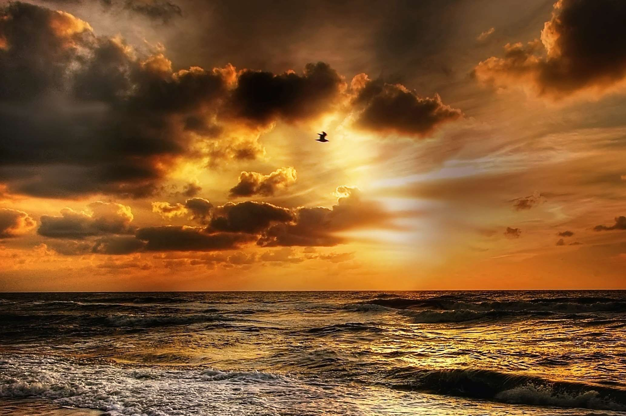 Skyglow When I See Sunset Like This In >> Abendstimmung Afterglow Beach Beautiful Bird Clouds Coast