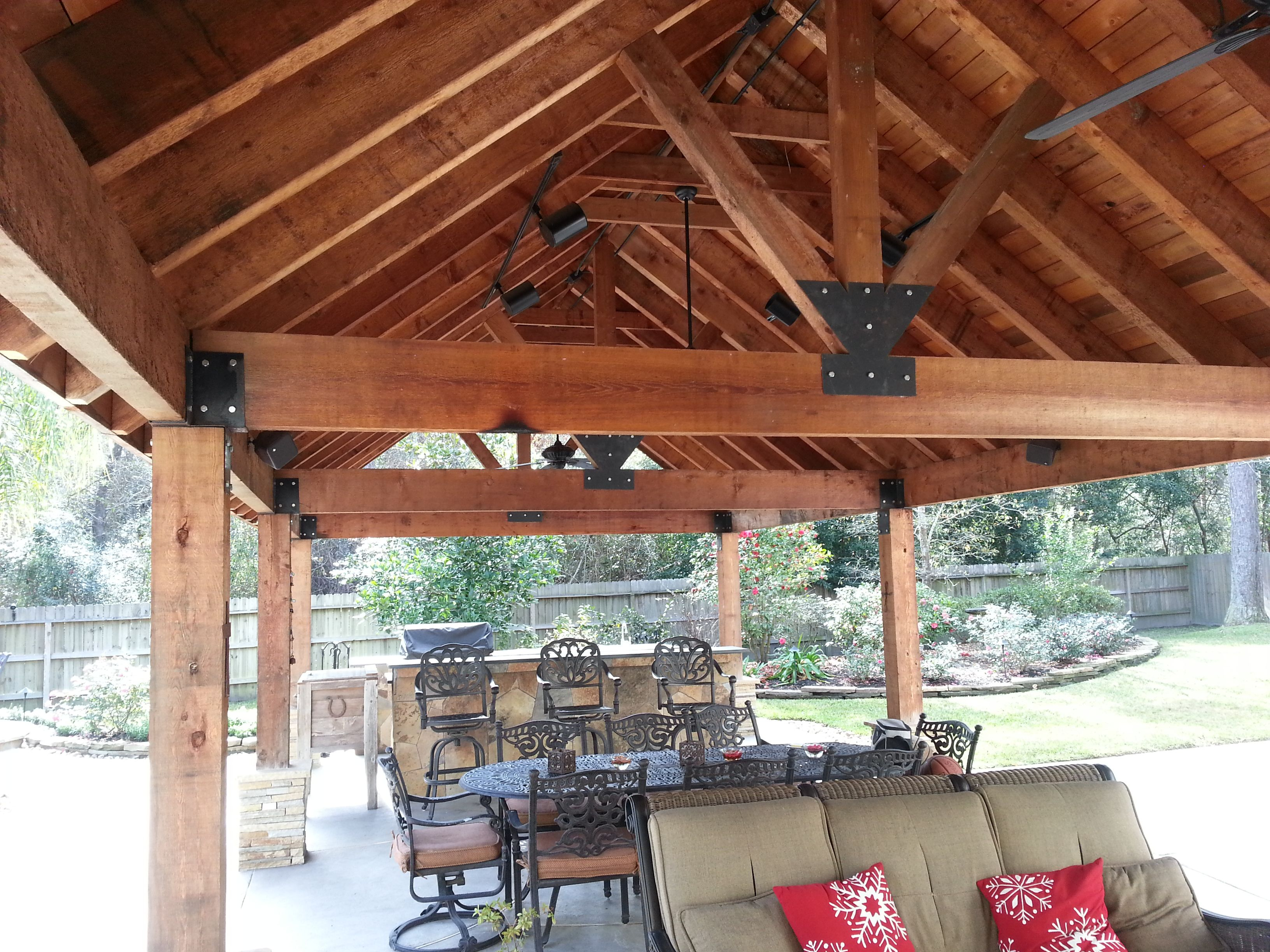 Turn Your Backyard into a Summer Hot Spot with an Outdoor ... on Backyard Renovation Companies id=54960