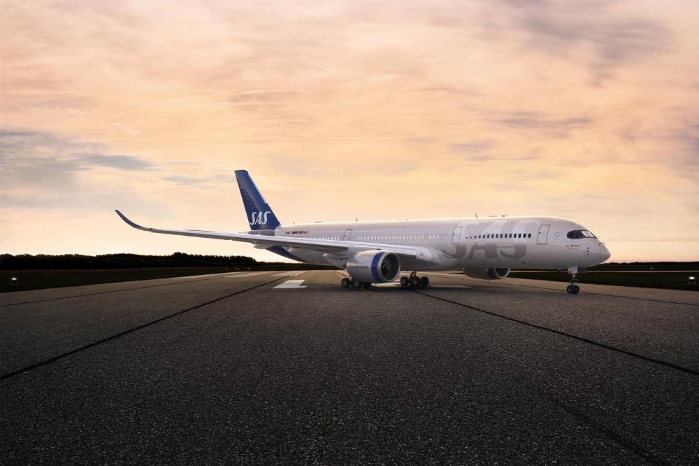 Sas Unveils New Design For Its Aircraft Exterior Aircraft Airbus Sas