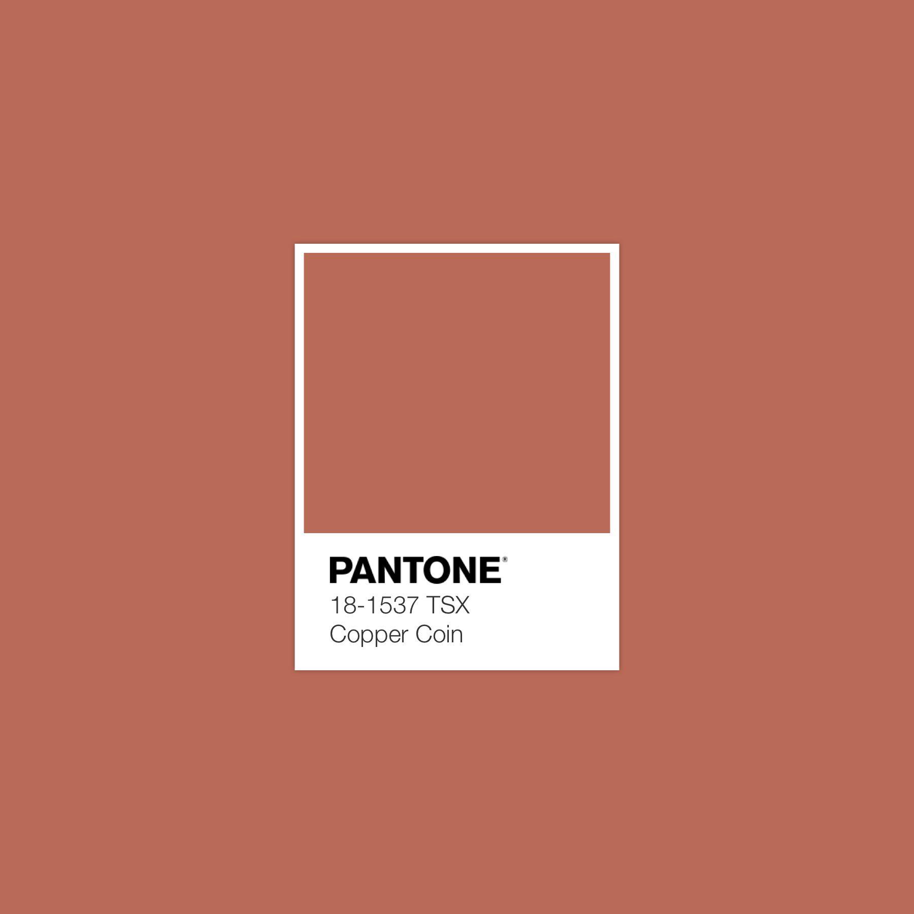 Coppercoin Pantone Luxurydotcom In 2020 Pantone Pantone Color Color Design Inspiration