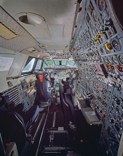 Concorde Fox Alpha Air France Cockpit At The Udvar Hazy Center