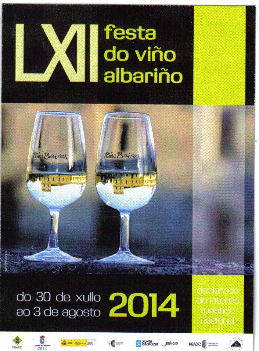 A Ti Meu Cambados Por Primeira Vez Na Historia O Cartel Da Festa Do Alcoholic Drinks Glassware White Wine